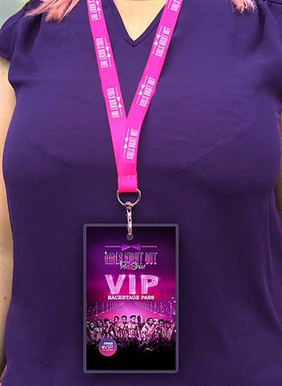 Girls Night Out Lanyard